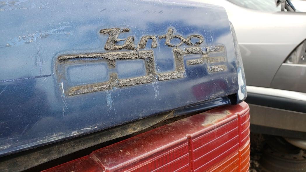 34 - 1991 Volvo 780 Bertone Coupe in Colorado junkyard - photo by Murilee Martin