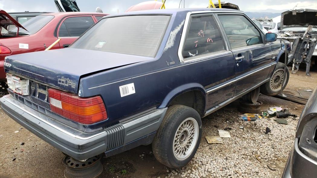 36 - 1991 Volvo 780 Bertone Coupe in Colorado junkyard - photo by Murilee Martin