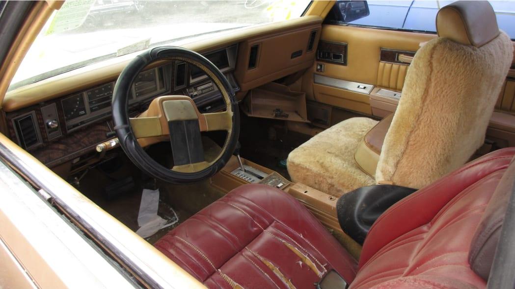 29 - 1985 Dodge 600 convertible in Arizona wrecking yard - photo by Murilee Martin