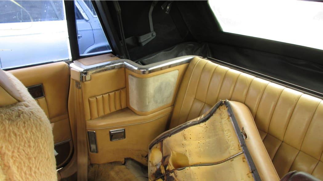 34 - 1985 Dodge 600 convertible in Arizona wrecking yard - photo by Murilee Martin