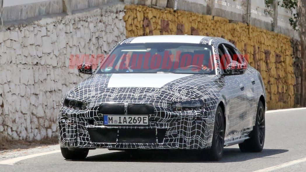 BMW i4 spy photo