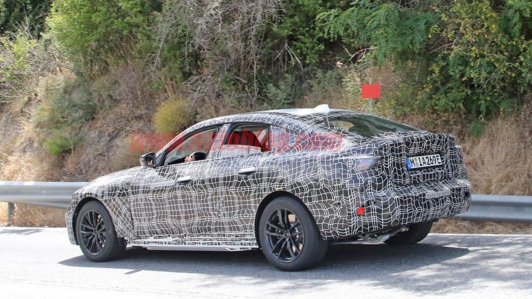 BMW i4 spy photo 4