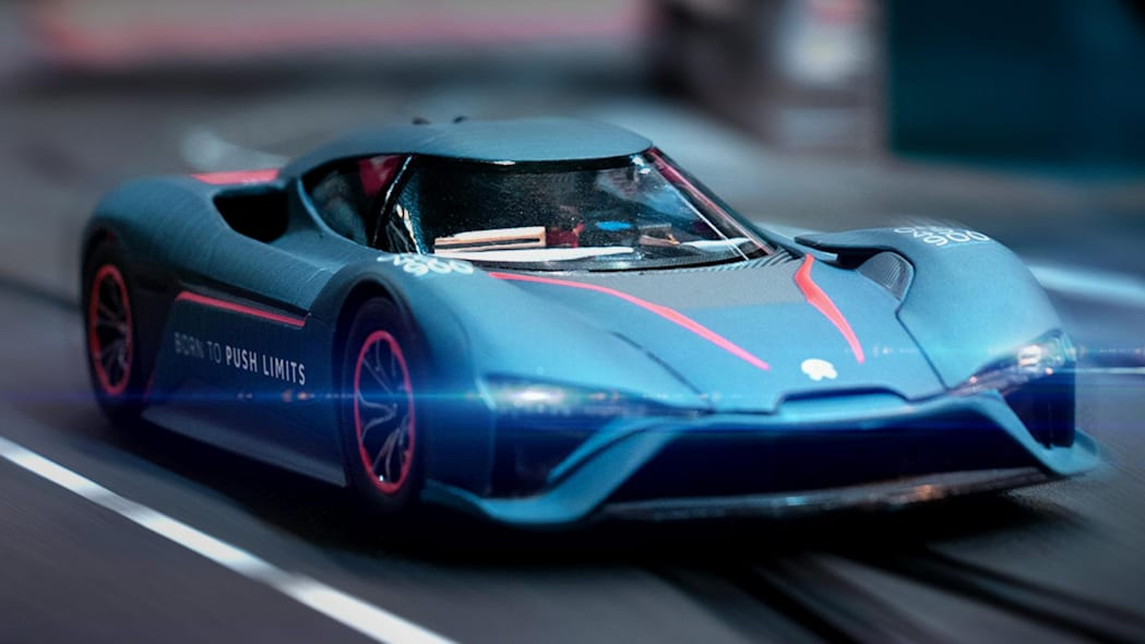 Nio EP9 Carrera slot car in black