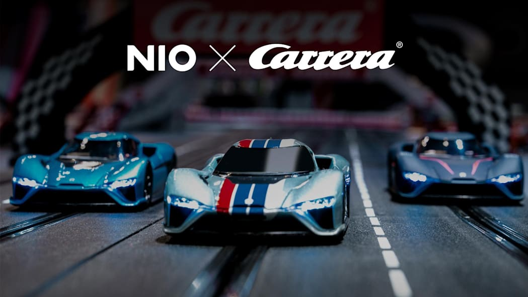 Nio EP9 Carrera slot cars