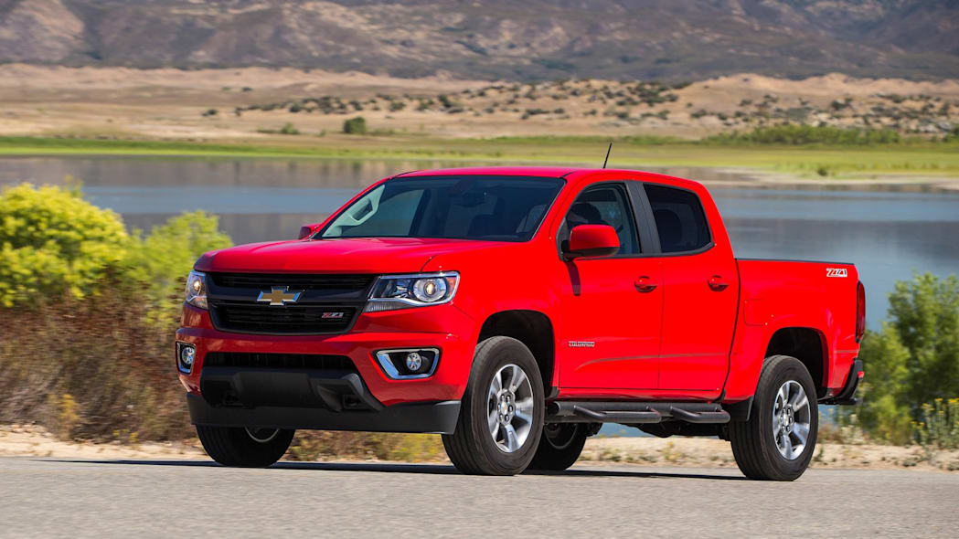 Chevrolet Colorado: 4.1%