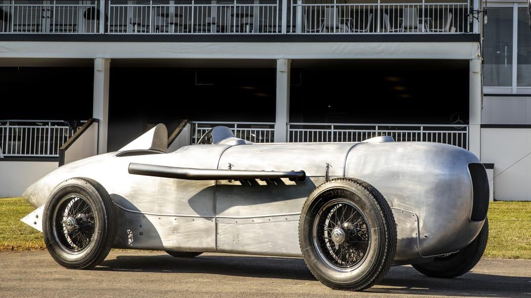 1932 Mercedes-Benz SSKL streamliner replica