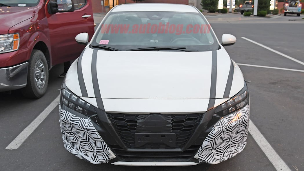 2020 Nissan Sentra spied