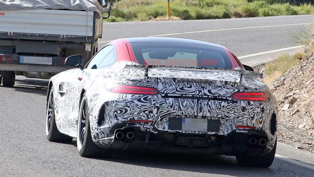 Mercedes-AMG GT R Black Series in camouflage