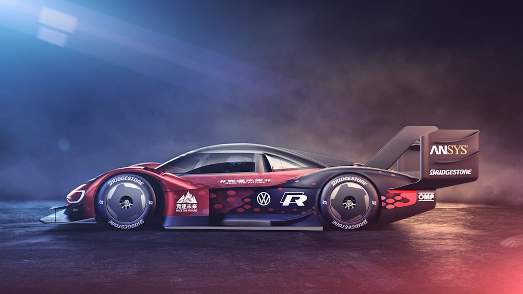 The VW ID.R is red now
