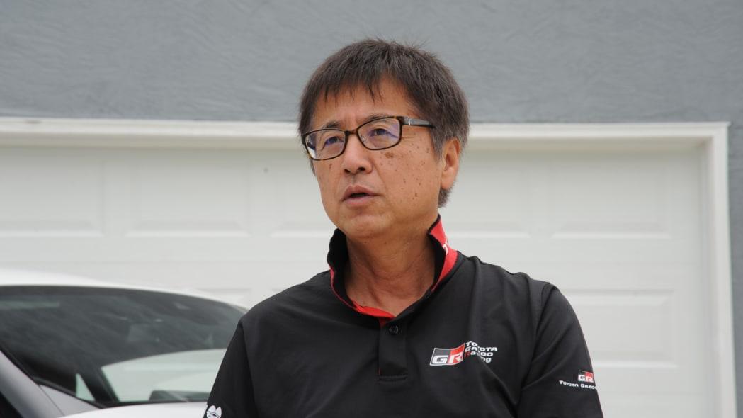 Supra Chief Engineer Tetsuya Tada