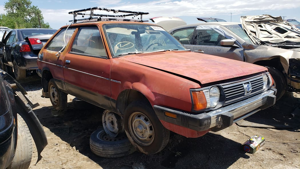 Junkyard Gem: 1980 Subaru 4WD Hatchback