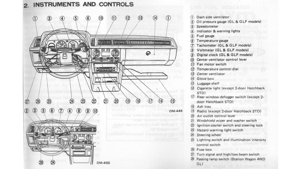 01 Subaru Driver Manual 1
