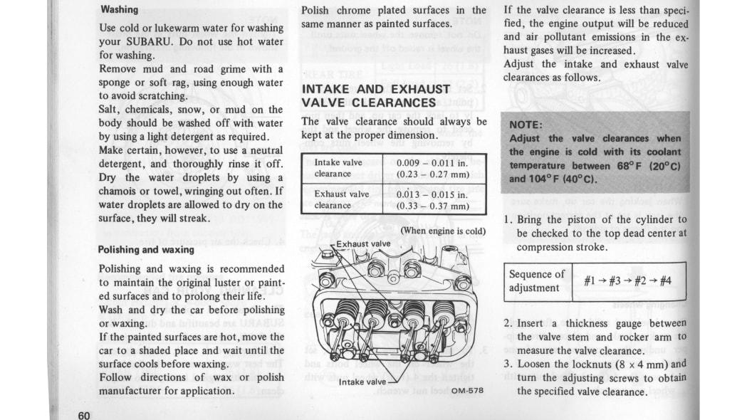 80 Subaru Driver Manual 3
