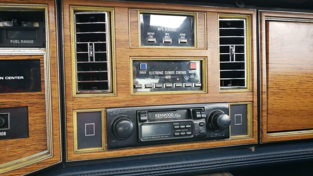05 - 1981 Cadillac Eldorado in California wrecking yard - photo by Murilee Martin