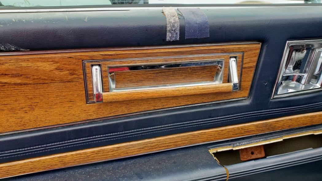 09 - 1981 Cadillac Eldorado in California wrecking yard - photo by Murilee Martin