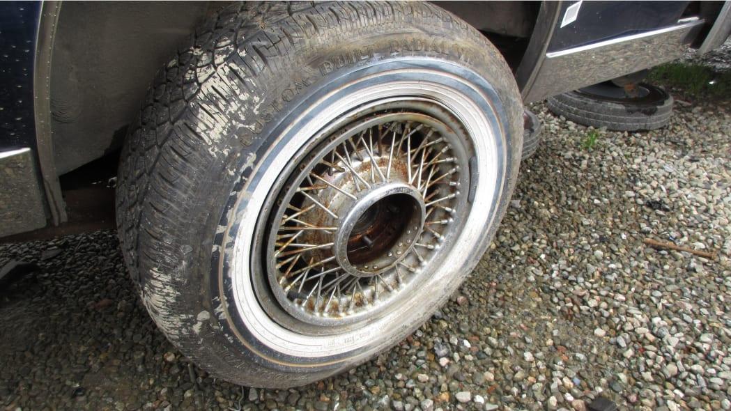 38 - 1981 Cadillac Eldorado in California wrecking yard - photo by Murilee Martin