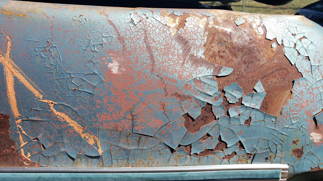 39 - 1968 Pontiac Catalina in Colorado wrecking yard - photo by Murilee Martin