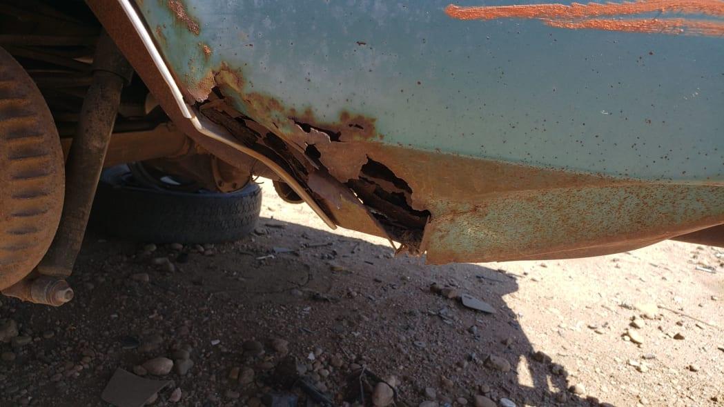 41 - 1968 Pontiac Catalina in Colorado wrecking yard - photo by Murilee Martin