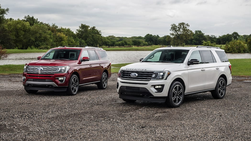 2019 Ford Expedition Texas and Stealth Editions