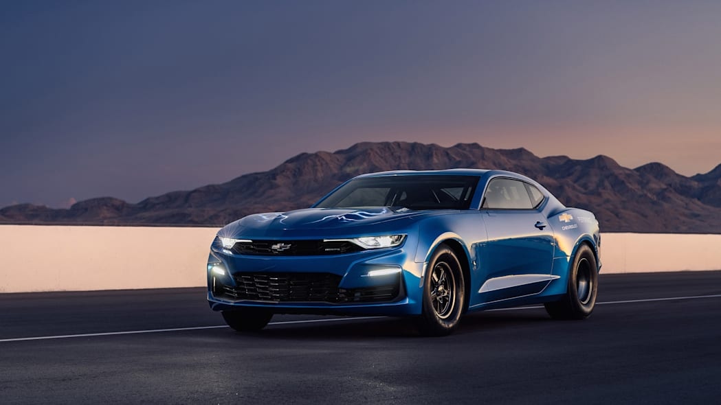 Chevy eCOPO Camaro one-of-a-kind EV concept going to auction