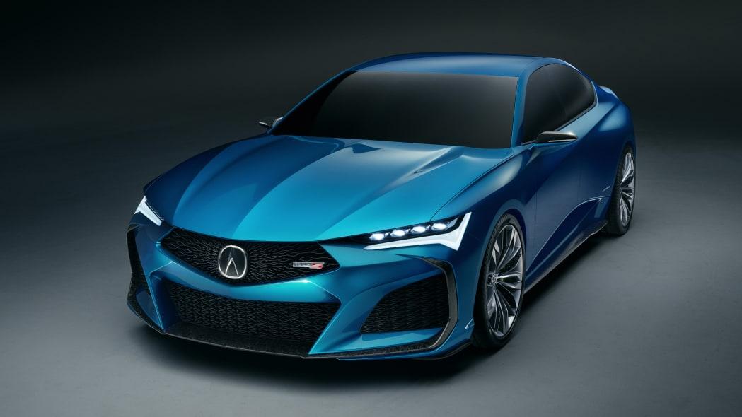Acura Type S Concept debuts in Monterey as a stunning four-door sedan