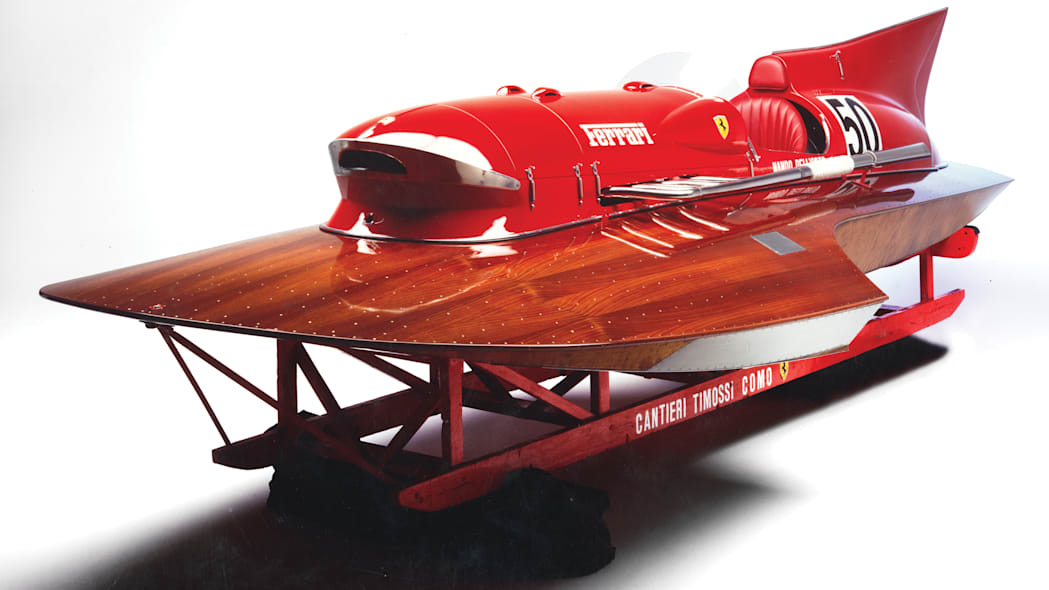 Record-setting 1953 Timossi-Ferrari V12 hydroplane is as rare as it gets
