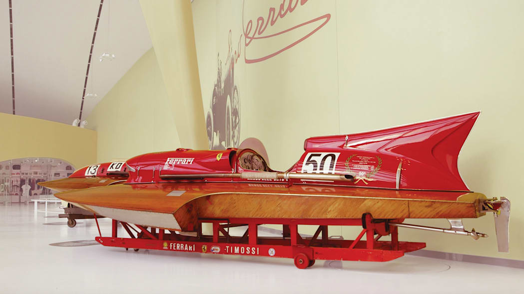 1953 Timossi-Ferrari Arno XI Racing Hydroplane