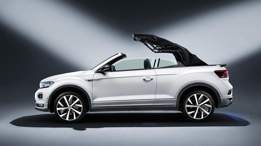 The new Volkswagen T-Roc Cabriolet