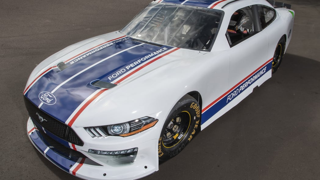Ford fuels an old rivalry with its Xfinity-spec 2020 Mustang race car