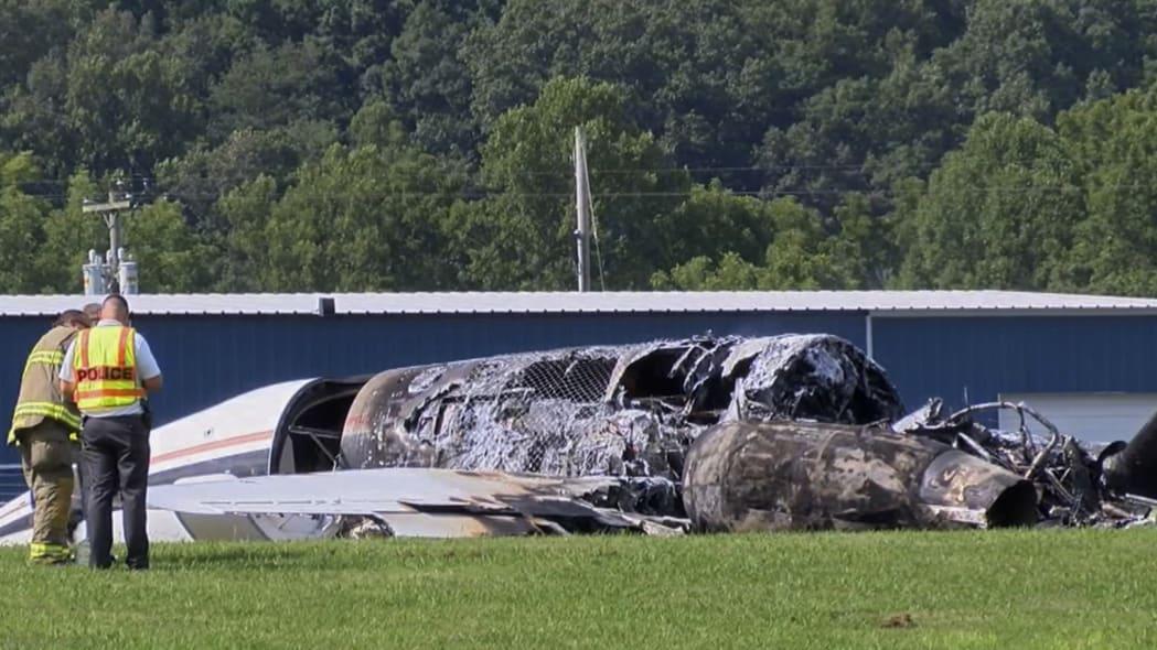 Earnhardt Plane Crash
