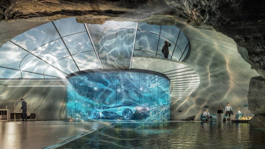 Aston Martin will build your dream garage