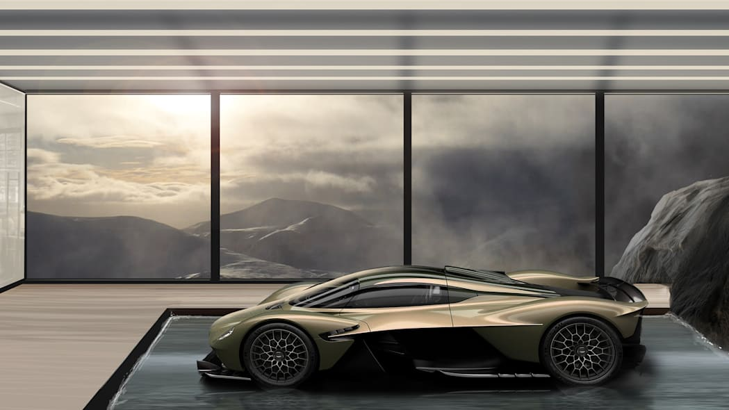 Aston Martin Galleries and Lairs concept
