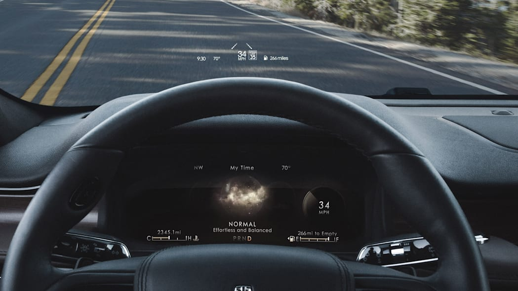 Lincoln Head-Up Display