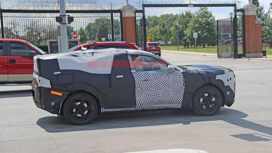 Ford Mach E spied