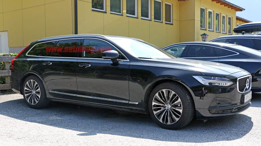 Spied: Volvo refreshing V90 wagon that hasn't hit 1,000 sales in America