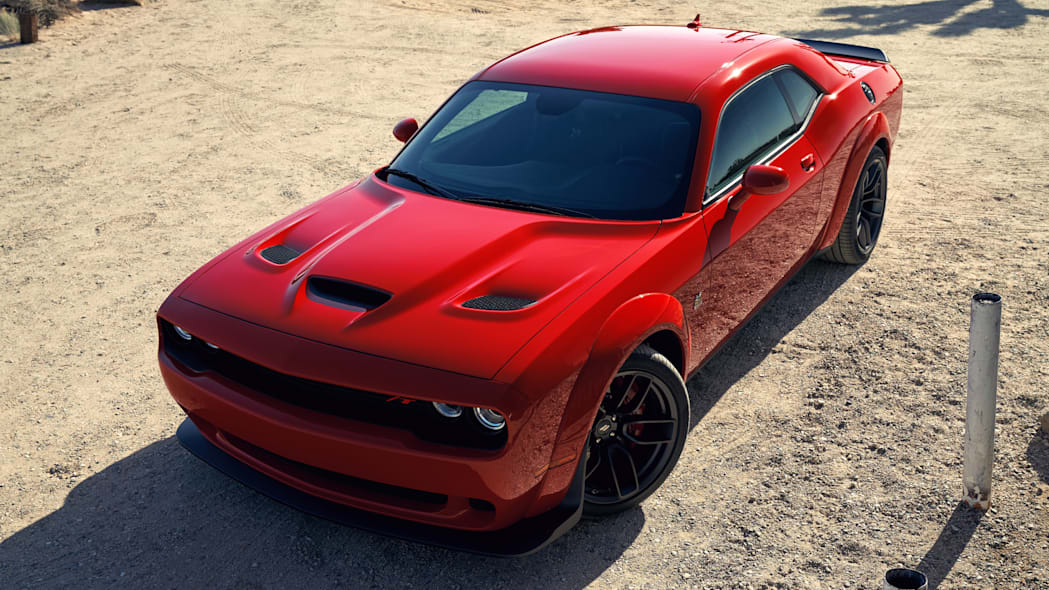 2020 Dodge Challenger R/T Scat Pack Widebody in red
