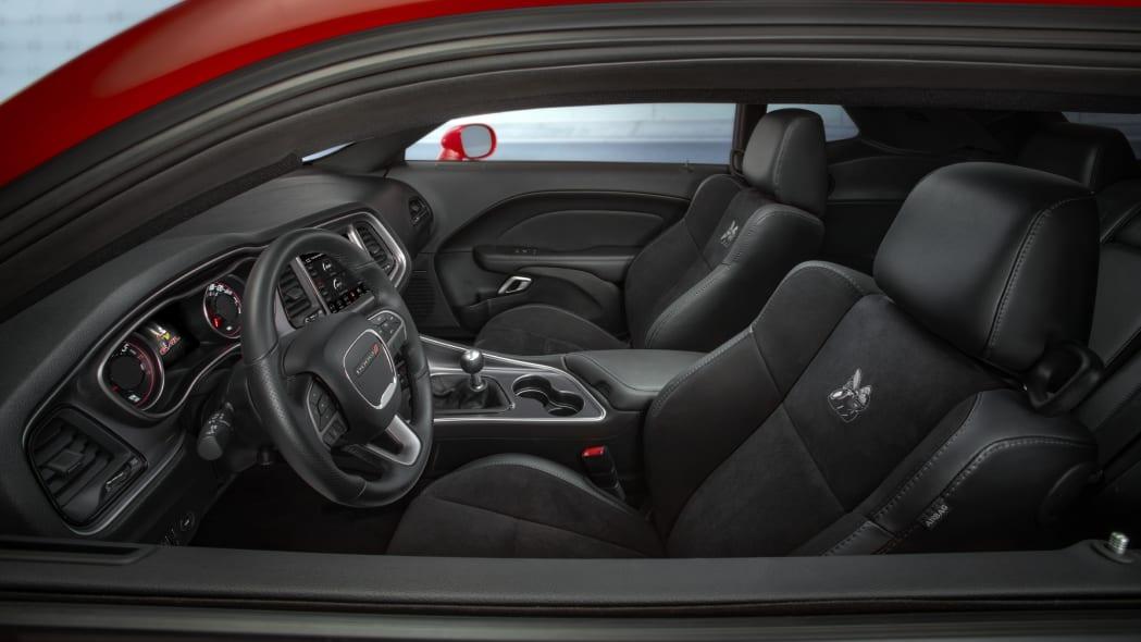 2020 Dodge Challenger R/T Scat Pack Widebody interior