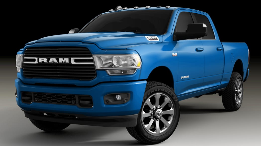 2020 Ram Heavy Duty in Hydro Blue