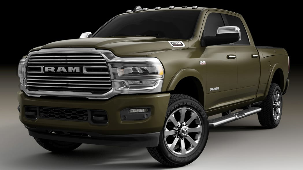 2020 Ram Heavy Duty in Olive Green