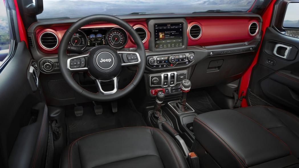 2020 Jeep Wrangler Rubicon interior