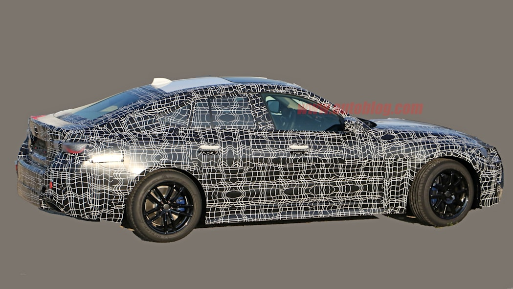 BMW 4 Series Gran Coupe in camouflage
