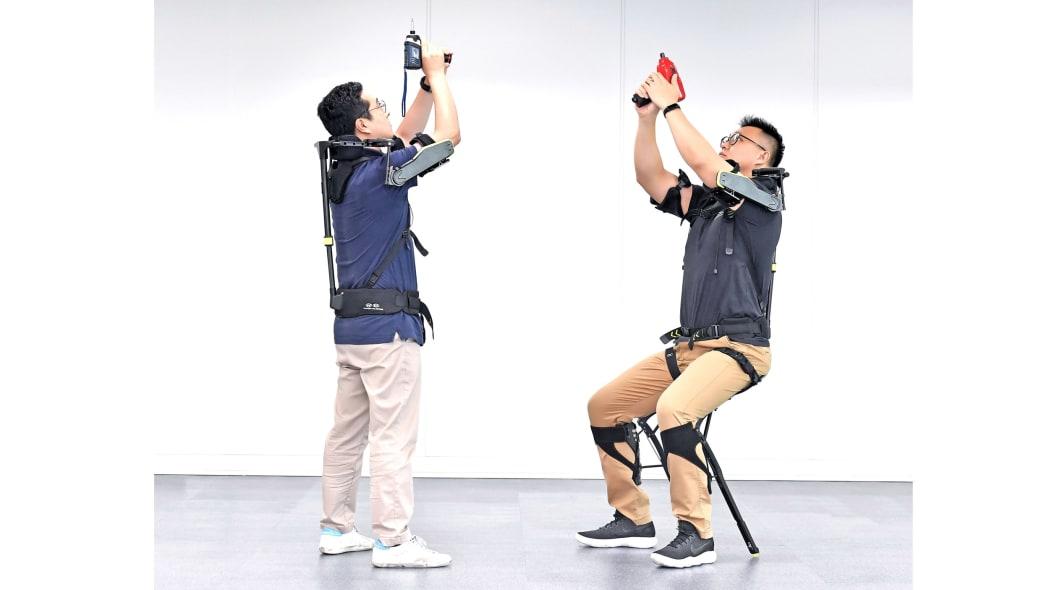 Hyundai Vest Exoskeleton