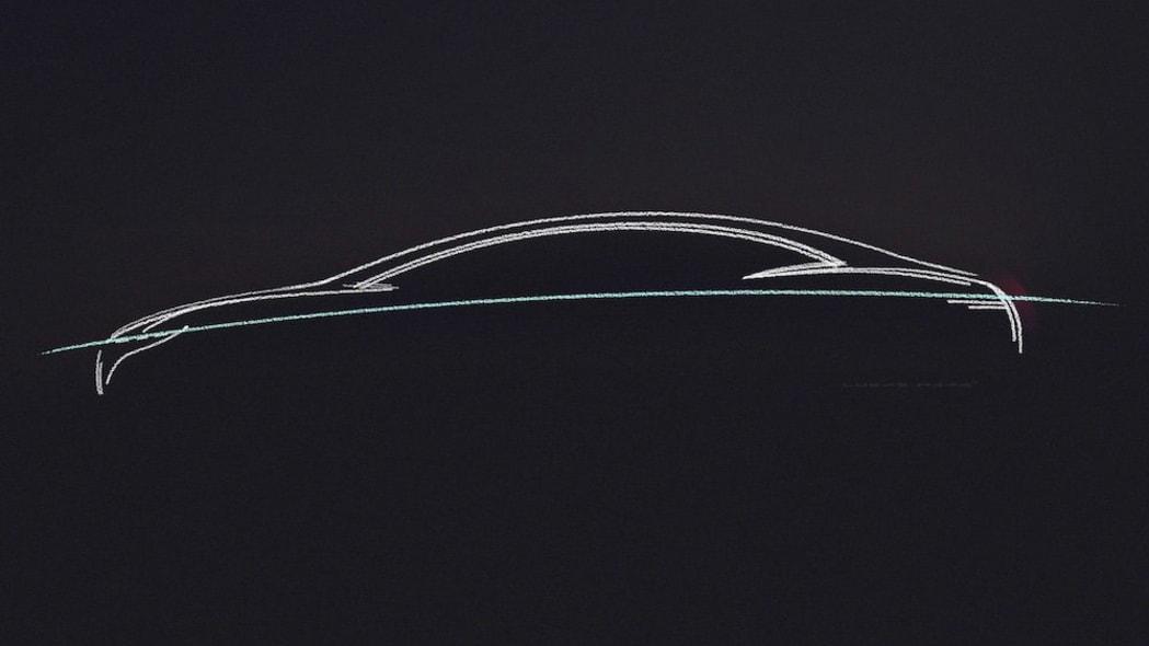 Mercedes-Benz VISION EQS profile teaser