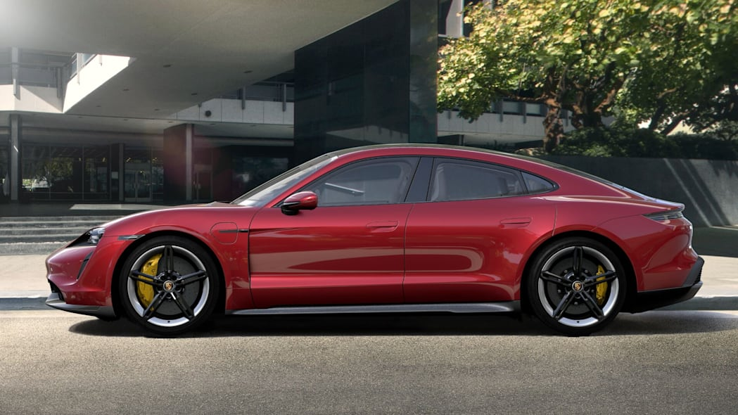 All of the 2020 Porsche Taycan paint and interior colors revealed