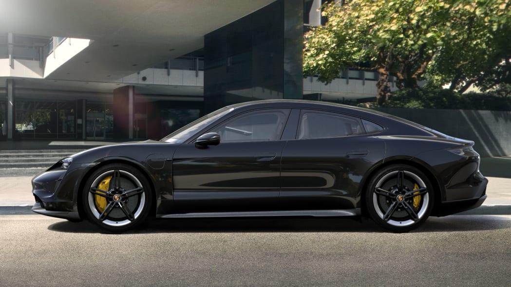 2020 Porsche Taycan in black