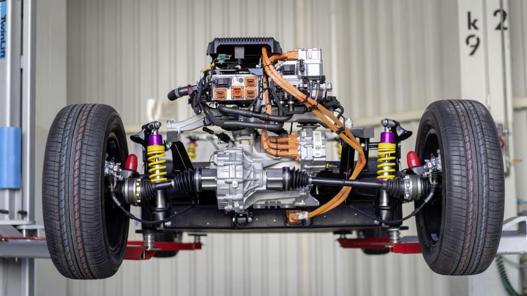 Volkswagen eClassics eBeetle powertrain