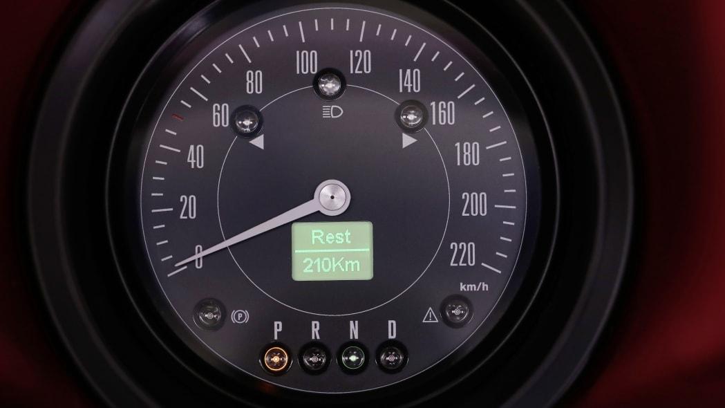 Volkswagen eClassics eBeetle speedometer