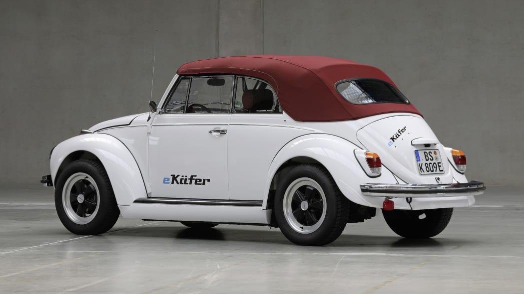 Volkswagen eClassics eBeetle in white