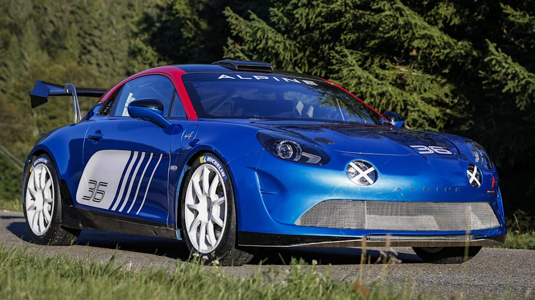 Alpine A110 Rally for the R-GT rally class