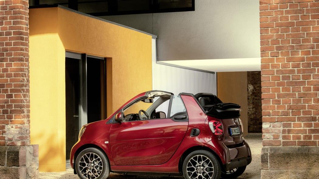 Die neue Generation: smart EQ fortwo cabrioThe new generation: smart EQ fortwo cabrio